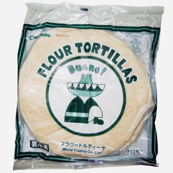 【冷凍】フラワートルティーヤ 10インチ