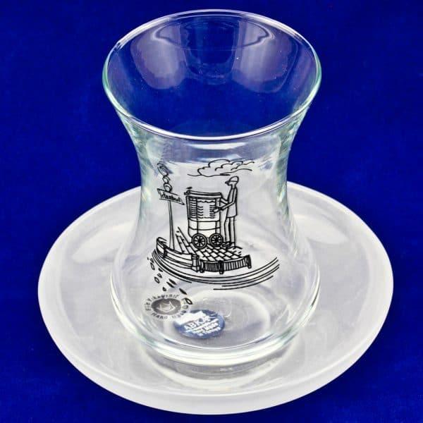 ABKA - チャイグラスセット スィミッチ (6個)