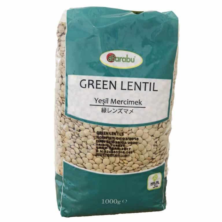 BARABU 緑レンズ豆 1kg