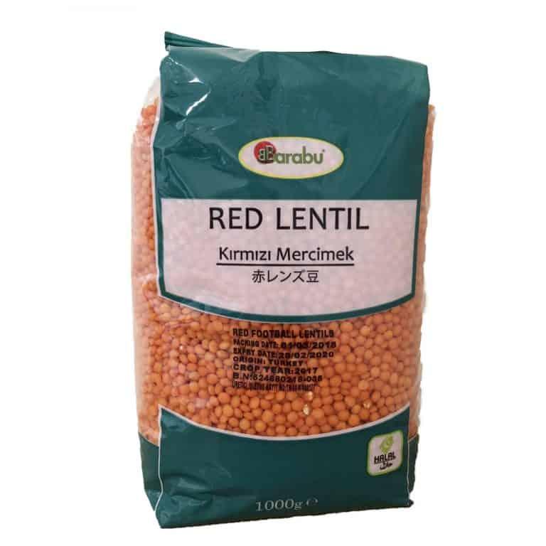 BARABU 赤レンズ豆 1kg
