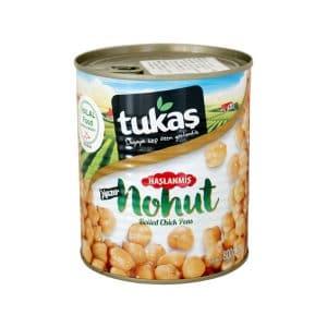 Tukaşひよこ豆の水煮800g 商品番号: TK009