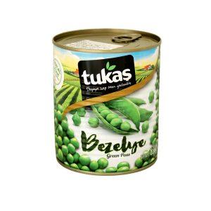 Tukaşグリーンピース830g 商品番号: TK0018