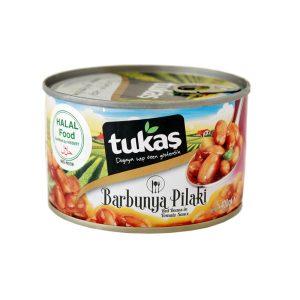 Tukaş赤いんげん豆のトマトソース煮400g 商品番号: TK007