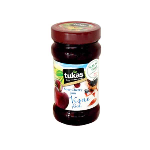 Tukaşサワーチェリージャム380g 商品番号: TK0016