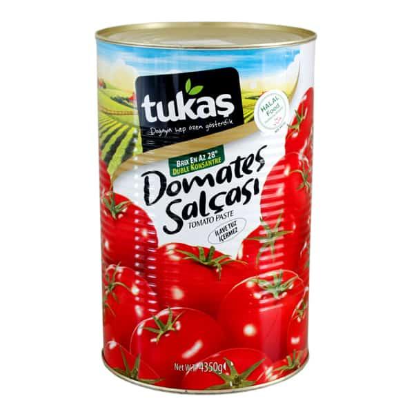 Tukaşトマトペースト4350g 商品番号: TK001