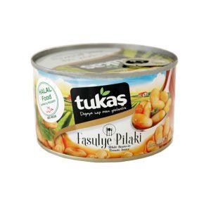 Tukaş白いんげん豆のトマトソース煮400g 商品番号: TK006