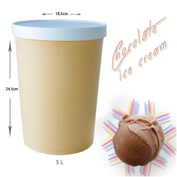 アイスクリームチョコレート 5L (業務用)Dondurma