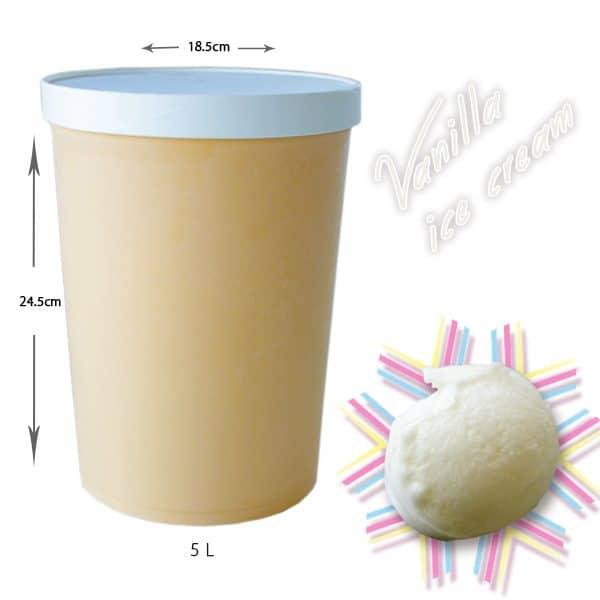 アイスクリームバニラ 5L 業務用(Dondurma)
